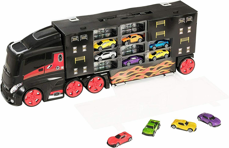 Jeu Camion Transporteur -10 Voitures - Virgin Megastore