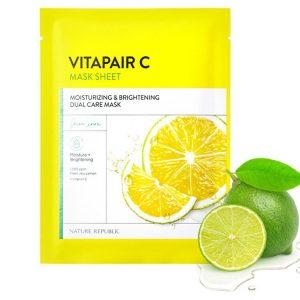 Masque en Tissu Vitamic C